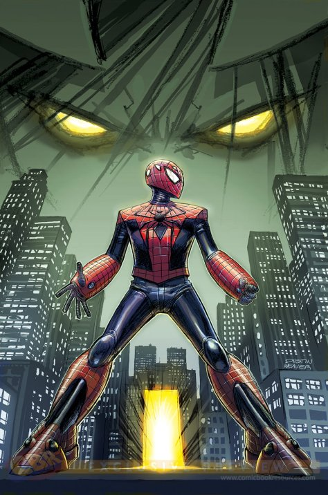 """Edge of Spider-Verse"" Courtesy of Comic Book Resources"