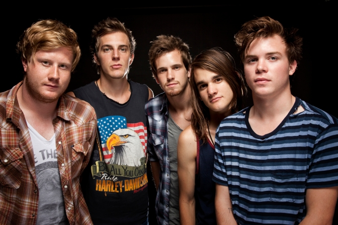 Interview with John, Jared, and Kennedy of The Maine