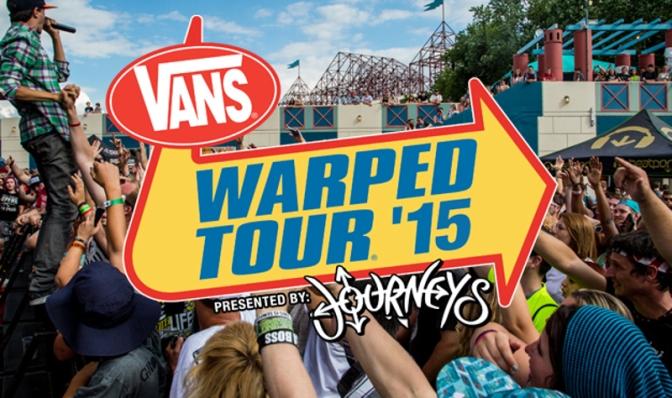 Photos – Vans Warped Tour 2015 (St. Petersburg, FL)