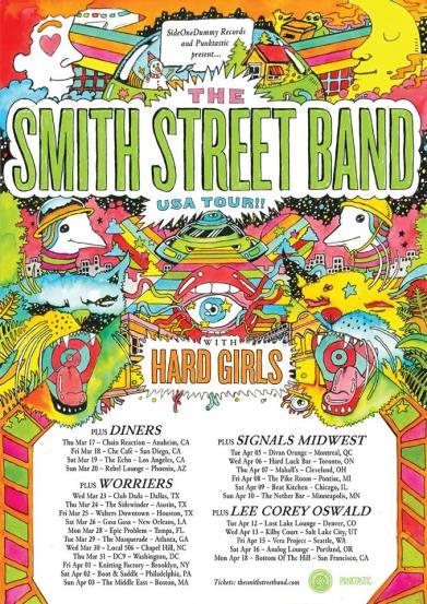 smith street band tour