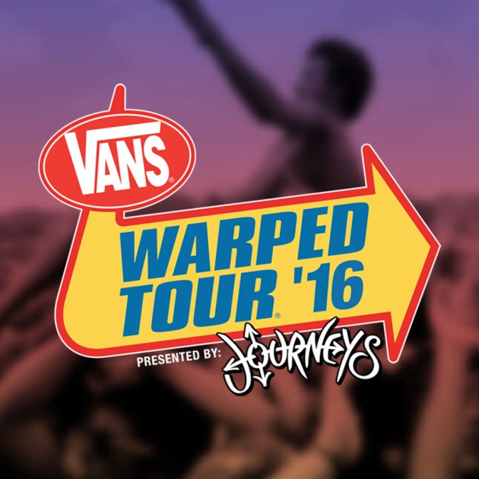 Vans Warped Tour 2016 Lineup announced