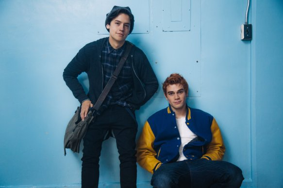 Jughead (Cole Sprouse) and Sexy Archie (K.J. Apa)